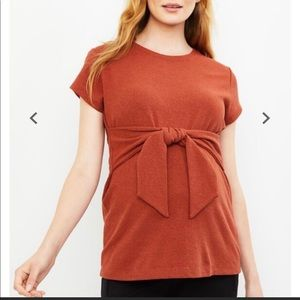 A Pea in the Pod The Front Textured Maternity Top